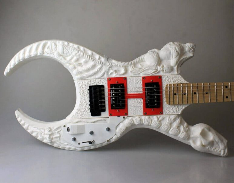 Agile image in 3d printable instruments