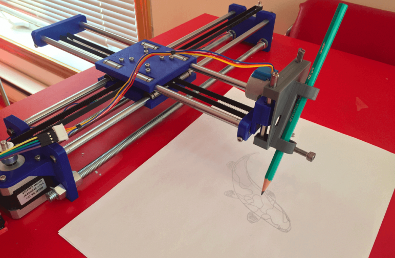 Image of 30 Interesting 3D Printing Projects: Drawing Machine