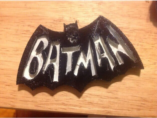 Image Of Batman 3D Logos And Symbols 1966 Emblem