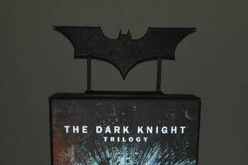 Image Of Batman 3D Logos And Symbols Dark Knight Logo With Stand