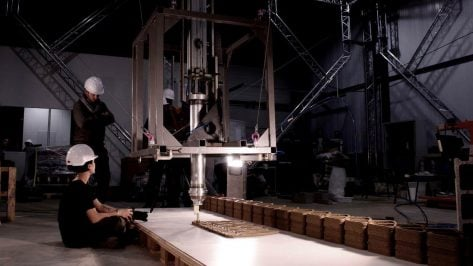 Featured image of The Cogiro Construction Robot Can 3D Print Buildings