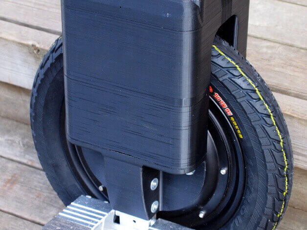 Image of 30 Interesting 3D Printing Projects: Electric Unicycle