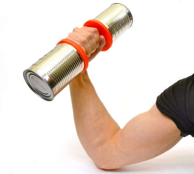 Image of 30 Interesting 3D Printing Projects: Tin Can Dumbbell