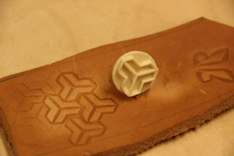 Image of 30 Interesting 3D Printing Projects: Leather Stamps