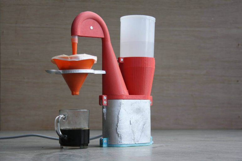 Image of 30 Interesting 3D Printing Projects: Electric Coffee Maker