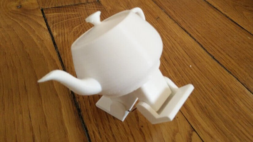Cute Dancing Teapot Made with Arduino & 3D Printing | All3DP