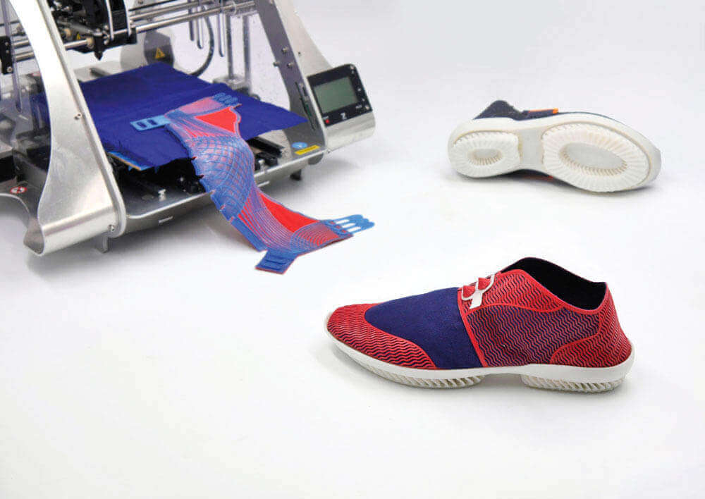 3D Printed Eco-Friendly Shoes