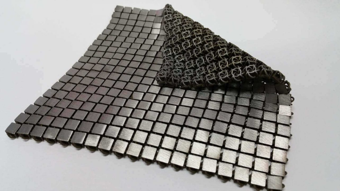 "Featured image of NASA Develops Functional ""Space Fabric"" With Metal 3D Printing"