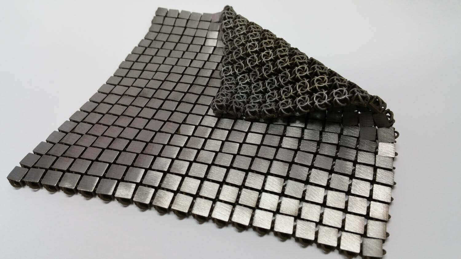 "NASA Develops Functional ""Space Fabric"" With Metal 3D Printing 
