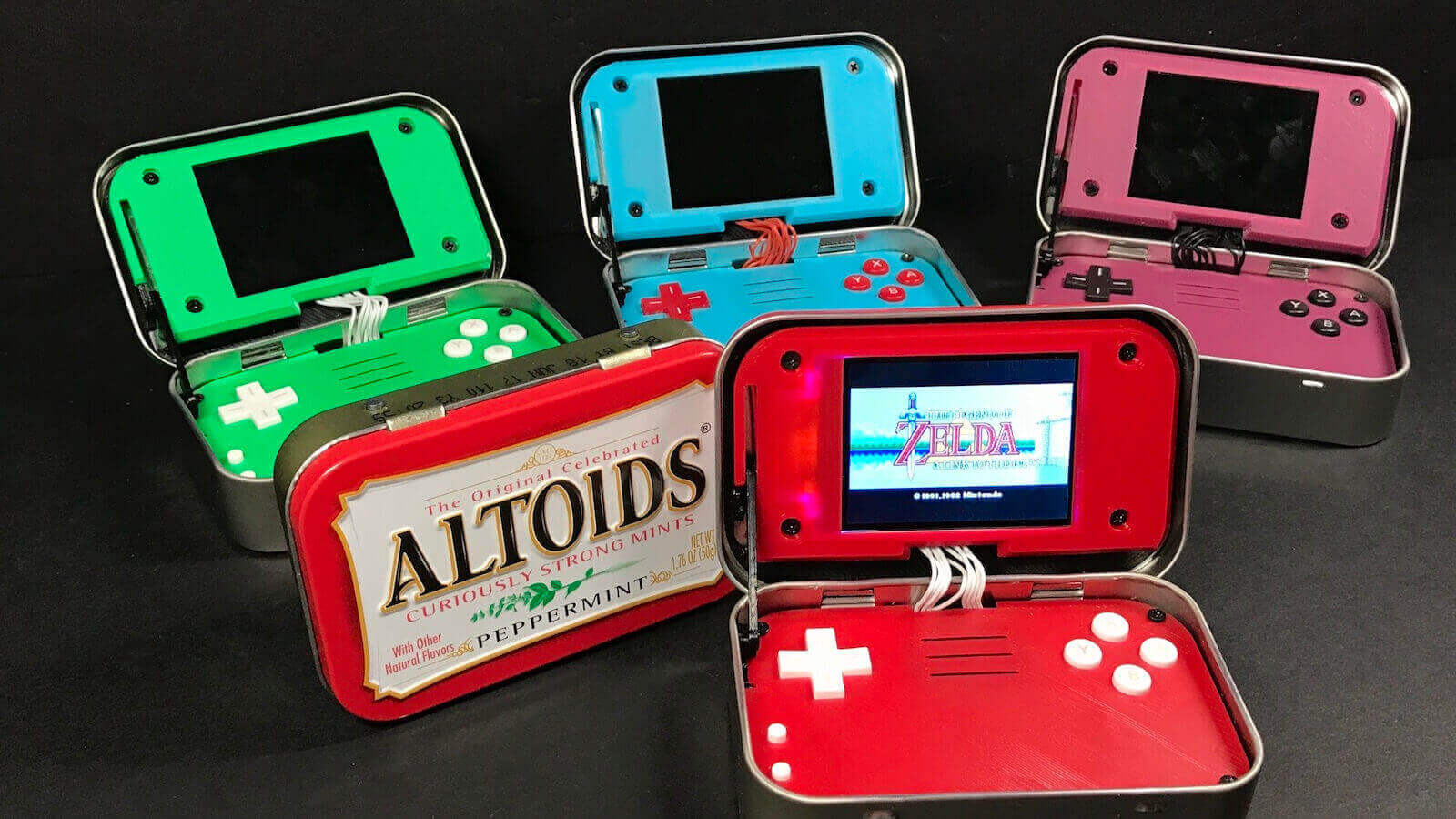 mintyPi 2.0 Hides a Retro Games Console Inside an Altoids Tin | All3DP