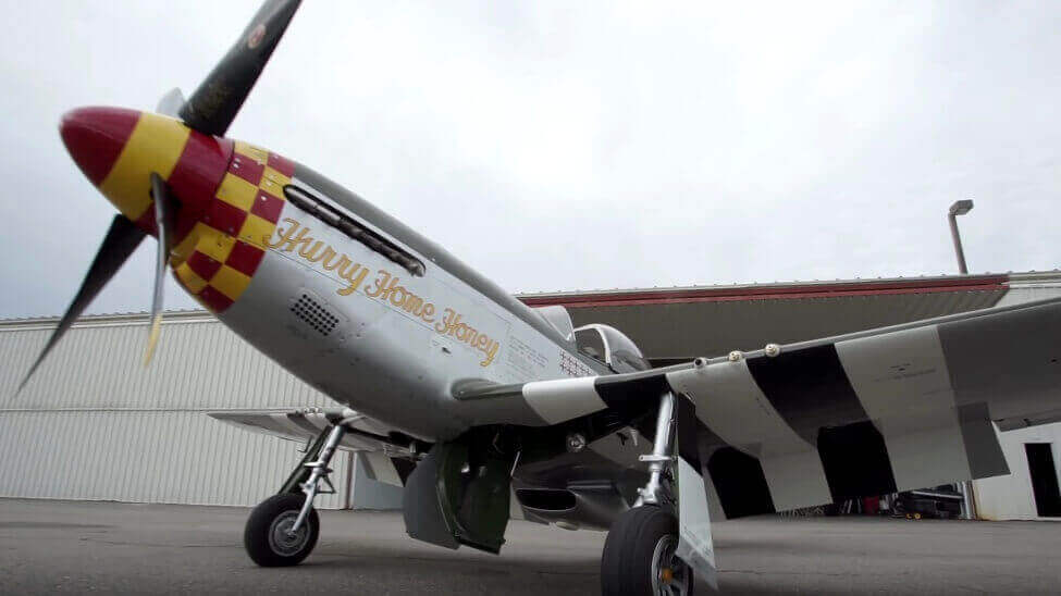 Enthusiasts Print Scarce Metal Parts For P-51D Mustang Plane | All3DP