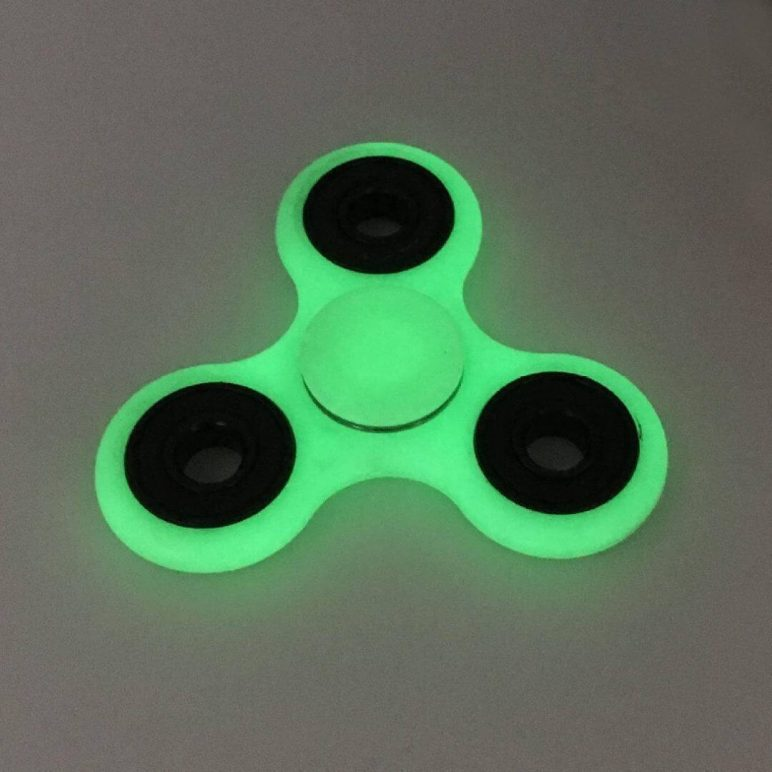 Image of Best Fidget Spinner Toys to Buy or DIY: Glowing Hand Spinner