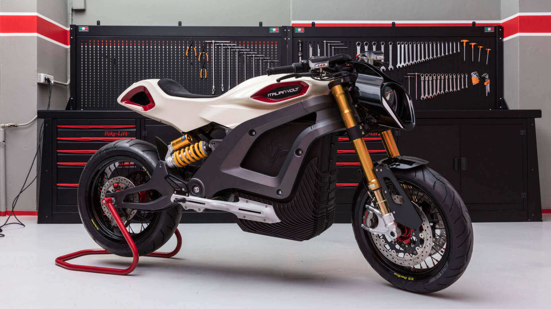 Italian Volt Lacama: Your Own Personalized Electric Motorbike? | All3DP