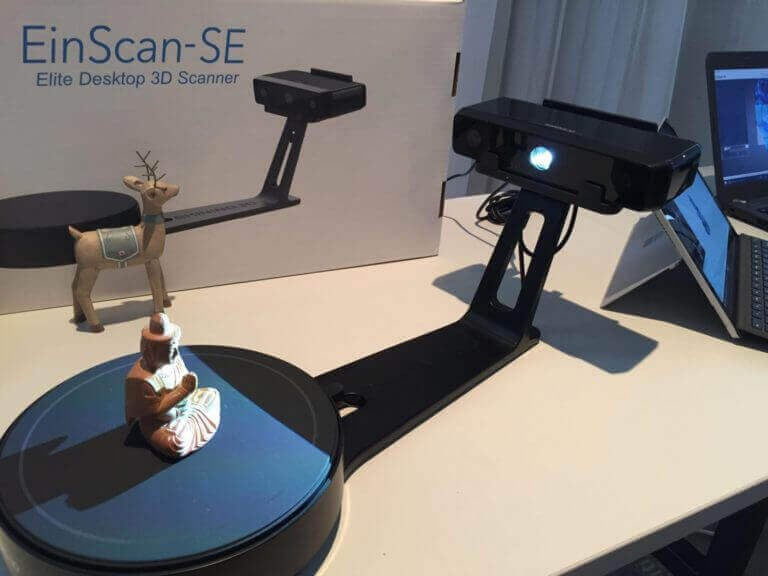 Image of Scanner 3D - Top 30: EinScan SE de Shining3D