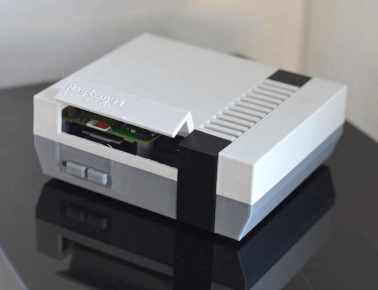 Image of Raspberry Pi NES Case: Mini NES Pi 3 Case (Customizable)