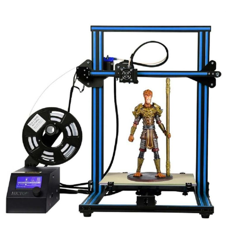 Image of Best Selling 3D Printer on Amazon: HICTOP CR-10 3D Printer