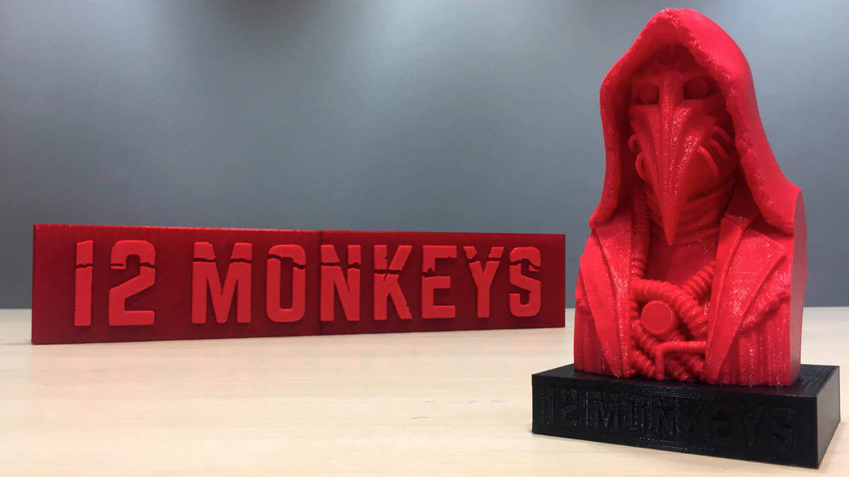 "New ""12 Monkeys"" Models on Thingiverse from SyFy Channel 