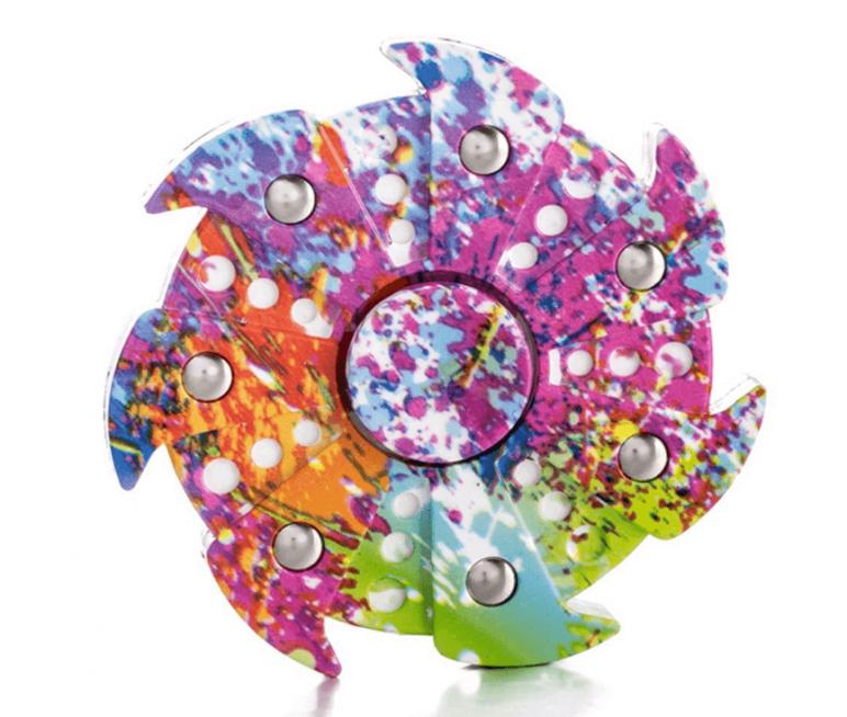 Image of Best Fidget Spinner on Amazon: DSSY Round Fidget Spinner