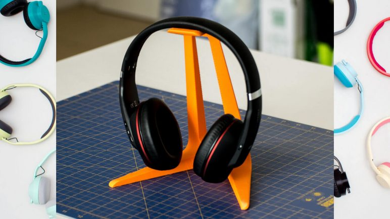 Image of Cool Things to 3D Print: Headphone Stand