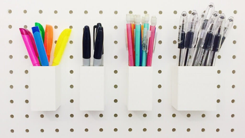 17 useful pegboard hooks and accessories to 3d print all3dp