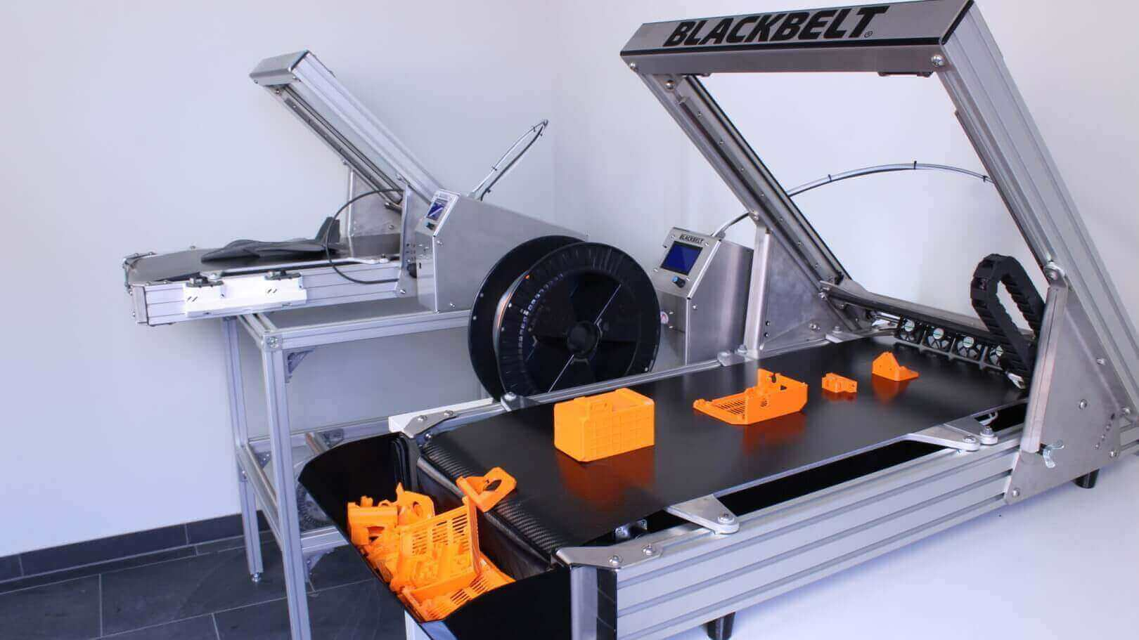 "Updated: Blackbelt 3D Printer ""Changing Paradigms"" of FDM Technology 
