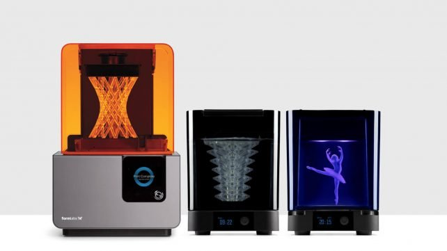 Featured image of New Form Wash and Form Cure from FormLabs