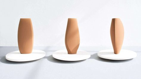 Featured image of Olivier van Herpt Partners with Fashion brand COS to 3D Print Clay Vases