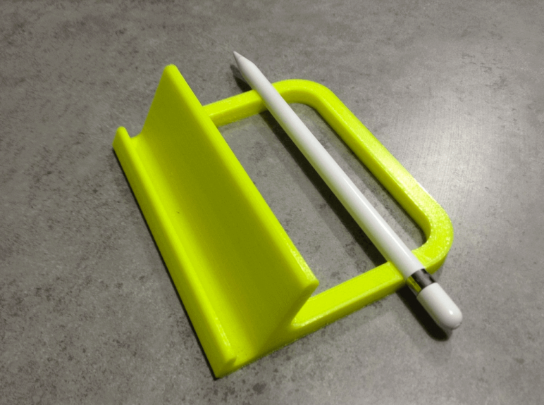 Image of Best Apple Pencil Accessories: iPad Pro Stand with Pencil Holder