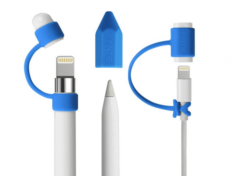 Image of Best Apple Pencil Accessories: Fintie Lightning Cable Adapter and Cap Retainer