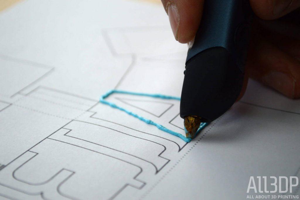 3d pen tutorial 3d sketch and create free 3d pen stencils all3dp