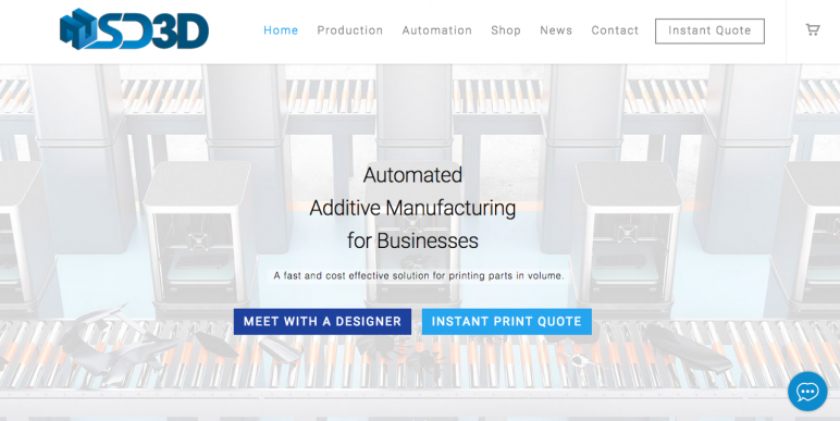 Image of Online 3D Printing Service: SD3D