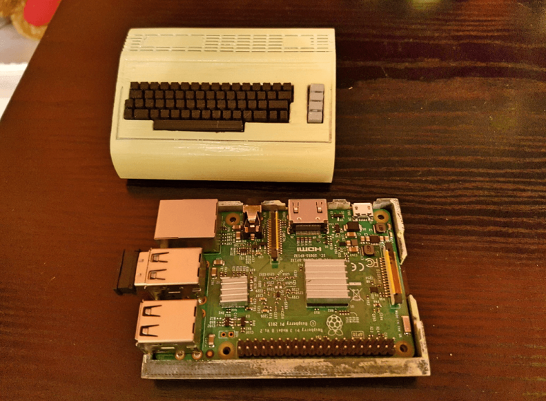 Image of Retropi Case: Mini Commodore C64 (Raspberry Pi 3 Case)