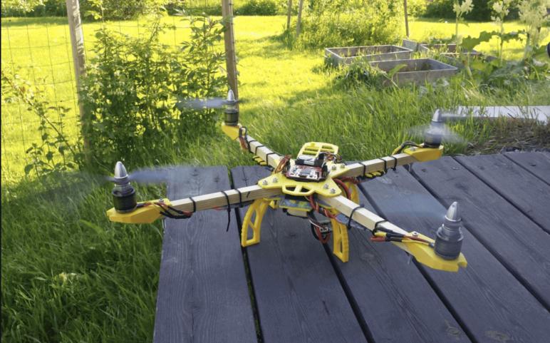 Image of Proyectos Raspberry Pi que puedes imprimir en 3D: Quadcopter