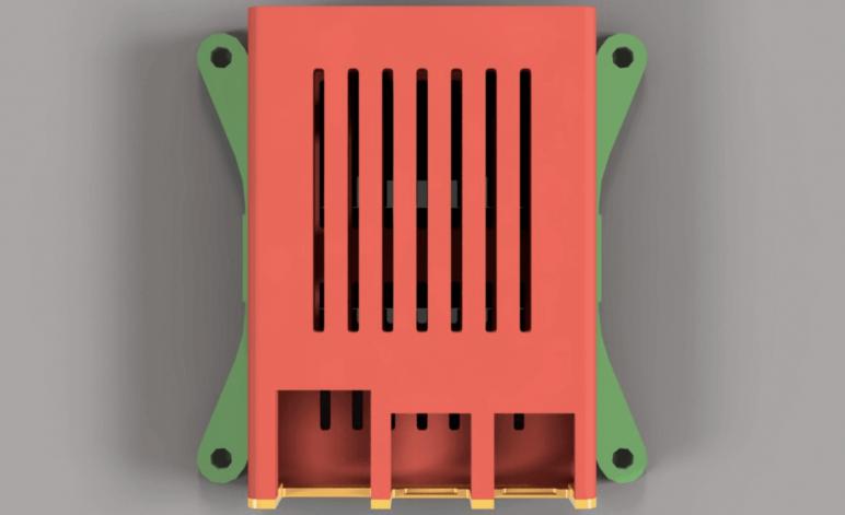 Image of Proyectos Raspberry Pi que puedes imprimir en 3D: Soporte para televisión