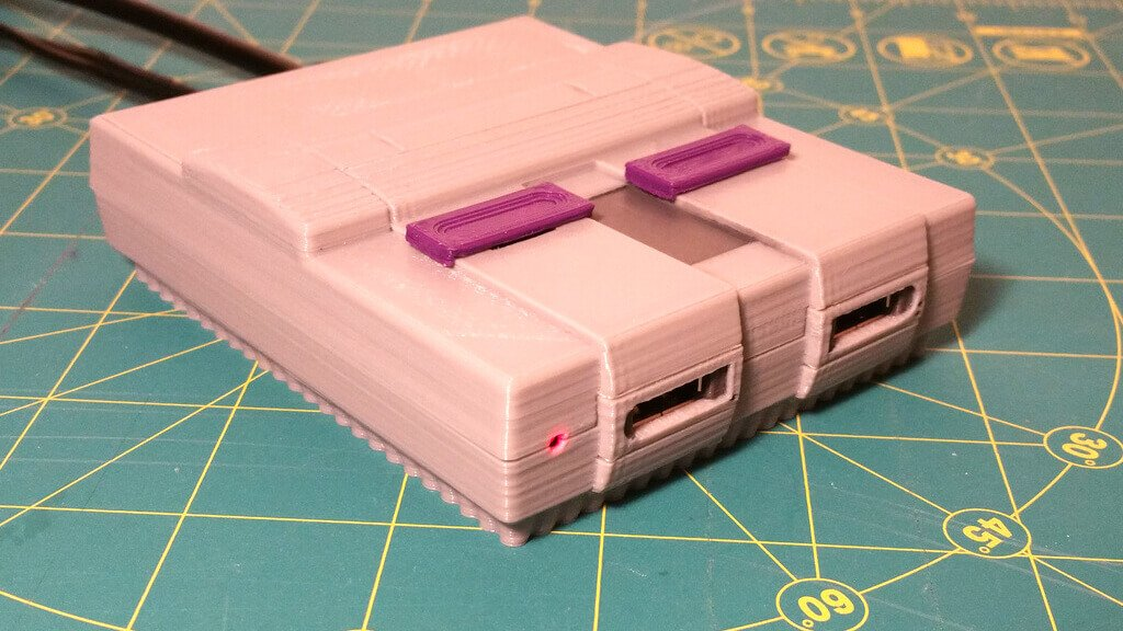How to 3D Print a Super Nintendo Mini with RetroPie and Raspberry Pi Zero | All3DP