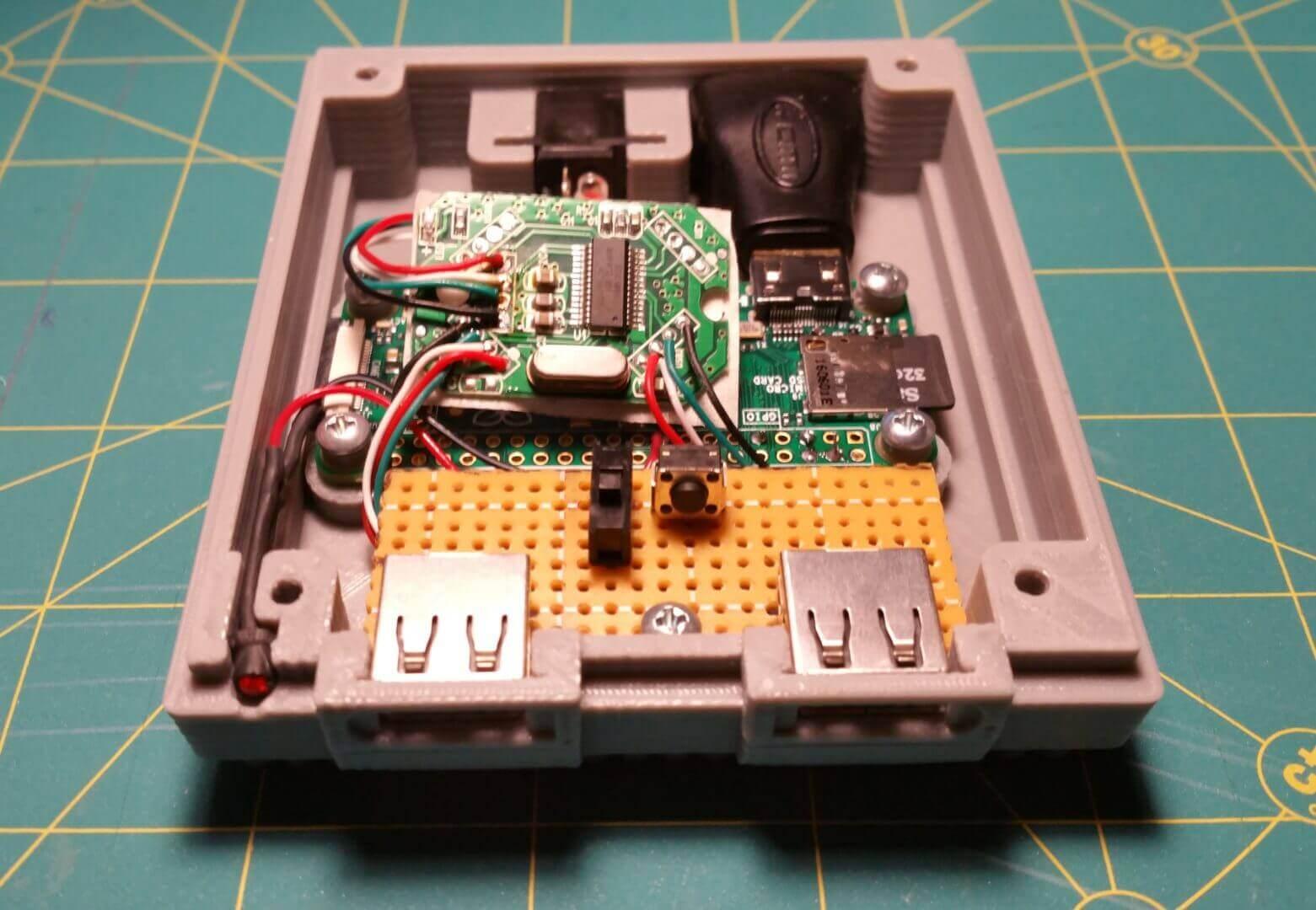 How To 3d Print A Super Nintendo Mini With Retropie And Raspberry Pi Wiring Diagram