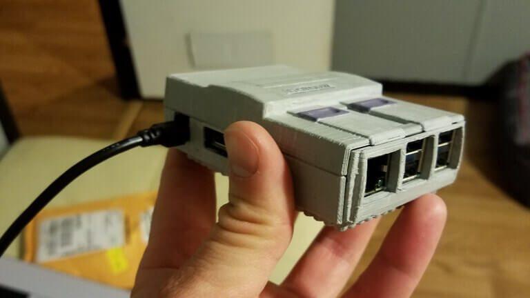 9 DIY Raspberry Pi SNES Classic Mini Cases to 3D Print Now