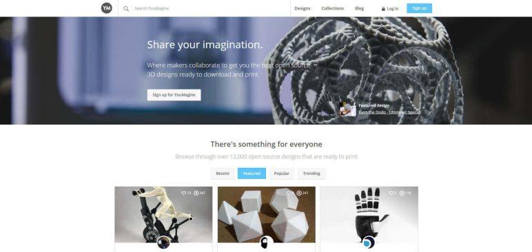 Image of Modèle3D gratuit - Meilleurs sites de téléchargement et archives3D de2018: YouMagine