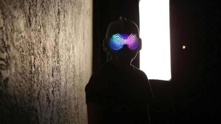 Image of 3D Printed Mask: The Wasp