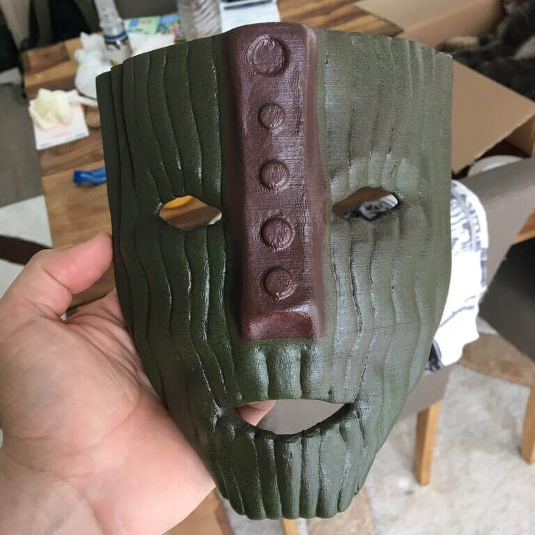 Image of 3D Printed Mask: The Mask