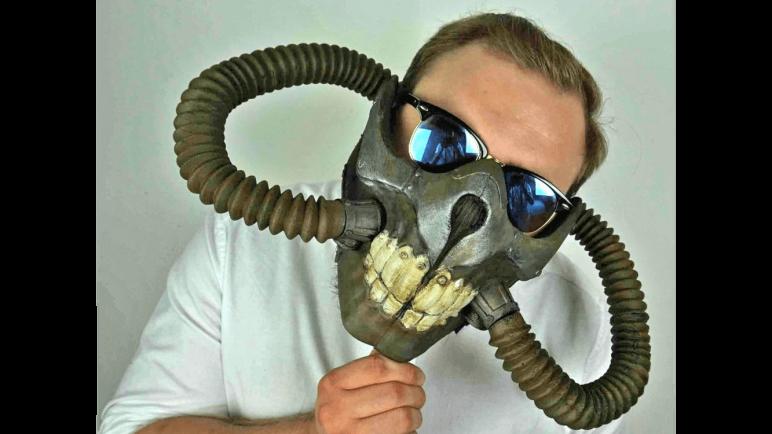 Image of 3D Printed Mask: Immortan Joe