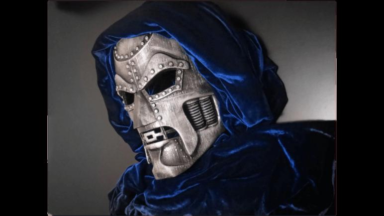 Image of 3D Printed Mask: Doctor Doom