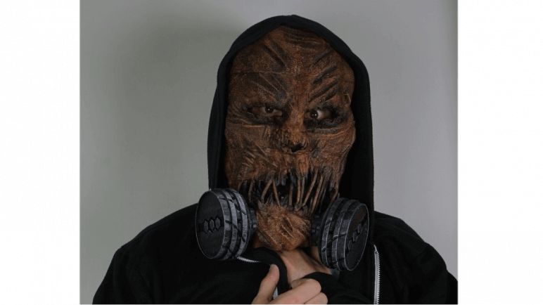Image of 3D Printed Mask: Scarecrow