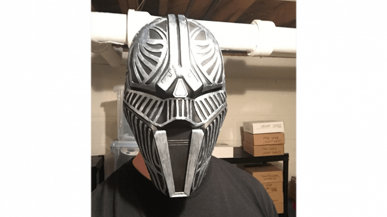 Image of 3D Printed Mask: Sith Acolyte