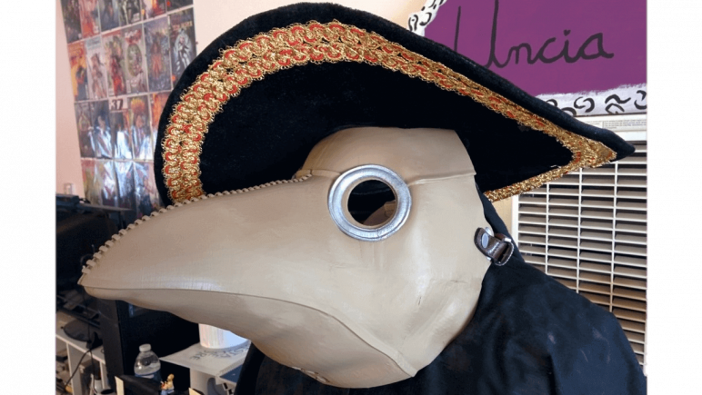 Image of 3D Printed Mask: Plague Mask