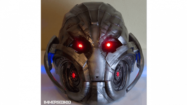 Image of 3D Printed Mask: Ultron