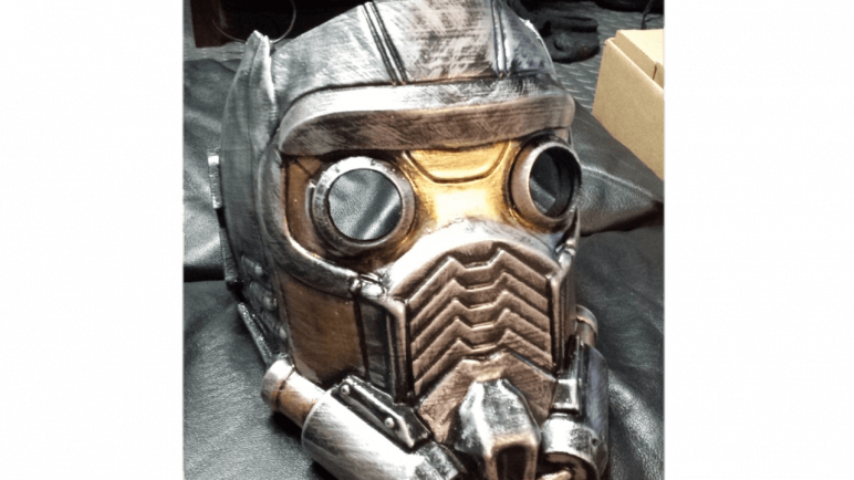 Image of 3D Printed Mask: Star-Lord