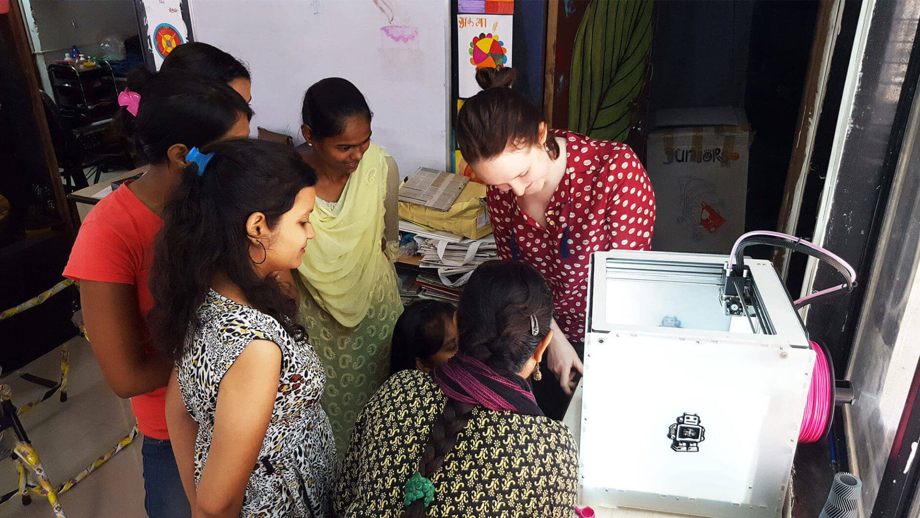 Disadvantaged Women From India Receive Education In 3D Printing | All3DP