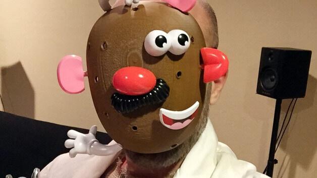 Image of 3D Printed Mask: Mr. Potato Head
