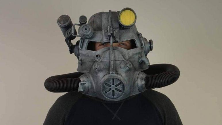 Image of 3D Printed Mask: T-45d Power Helmet